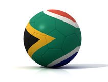 South africa soccer ball Royalty Free Stock Photos