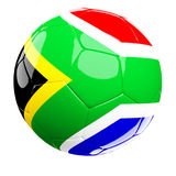 South africa soccer ball Royalty Free Stock Photography