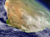 South Africa from space Stock Photos