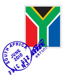 South africa stamp Stock Images