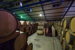 South Africa, Stellenbosch, Barrel cellar Royalty Free Stock Images