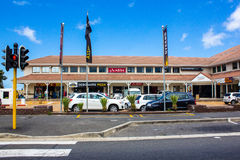 South Africa Strip Mall Stock Photo