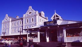 South Africa: Restaurant at the Waterfront in Cape town stock photos
