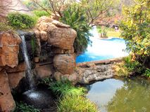 South Africa waterfall. Amazing waterfall in South Africa reservation Royalty Free Stock Images