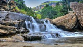 South Africa 2014. Watterfall in Drakensberg Stock Photos