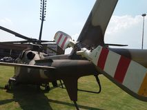 South African Air Force  helicopter Back angled view Stock Image
