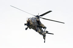 South African Air Force Rooivalk attack helicopter Stock Photo