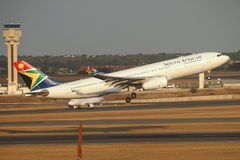 South African Airways Royalty Free Stock Image