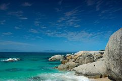 South African beach Royalty Free Stock Images