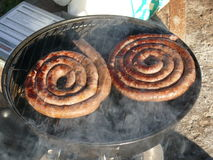 South african boerewors Stock Photos