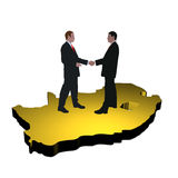 South African business meeting Royalty Free Stock Photos