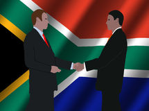 South African business meeting Royalty Free Stock Photography