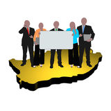 South African business team Royalty Free Stock Photography
