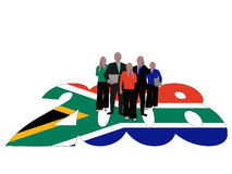 South African Business team Royalty Free Stock Images