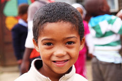 South African Child. A South African child from a township near Durban stock photos