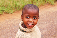 South African Child. A South African child from a township near Durban stock images