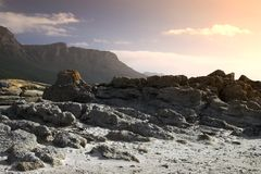 South African coastline Royalty Free Stock Photo