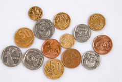 South African coins Royalty Free Stock Image
