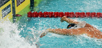 South African competitive swimmer SCHOEMAN Roland RSA Stock Images
