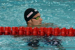 South African competitive swimmer SCHOEMAN Roland RSA Royalty Free Stock Image
