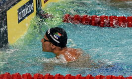 South African competitive swimmer SCHOEMAN Roland RSA Stock Photography