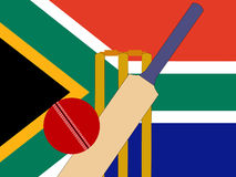 South African cricket Stock Photography