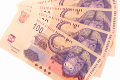 South African Currency Royalty Free Stock Photo