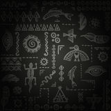 South African ethnic pattern. Vector ornament. Stock Photography