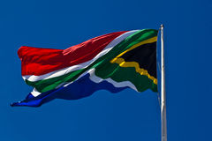 South African flag. Royalty Free Stock Image