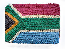 South African flag cake Royalty Free Stock Images
