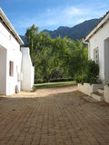 South African Home. A beautiful view from Tulbagh, South Africa Stock Photography