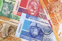 South African money a background