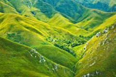 South African mountains background Royalty Free Stock Image