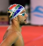 South African Olympic and world champion swimmer Chad Le Clos Royalty Free Stock Image