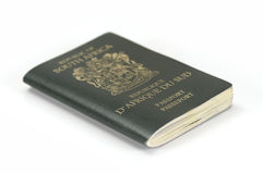 South African Passport Royalty Free Stock Images