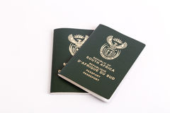 South African passports Stock Photography