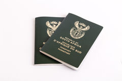 South African passports Royalty Free Stock Images