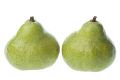 South African Peckham pears Stock Photo