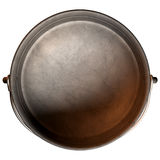 South African Potjie Pot Top Empty Stock Image