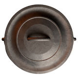 South African Potjie Pot Top With Lid Royalty Free Stock Images