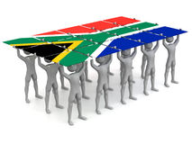South African Pride Stock Photography