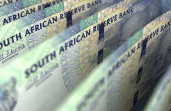 South African Rand Closeup Stock Image