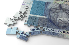 South African Rand Puzzle Stock Photos