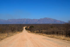 South African Road Royalty Free Stock Images