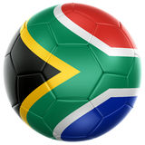 South African soccer ball Stock Photography