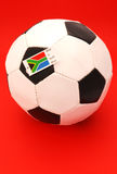 South African soccer ball Stock Images