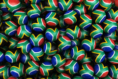 South African Soccer balls Royalty Free Stock Image