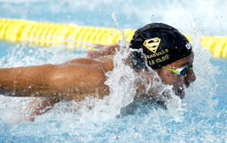 South African swimmer Chad le Clos Stock Images