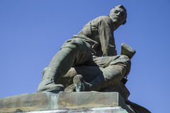 South African War Memorial in Bury St. Edmunds Stock Photography