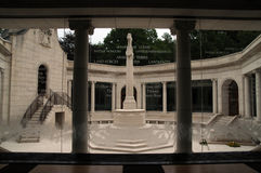 South African War Memorial. At Delville Wood Royalty Free Stock Photos